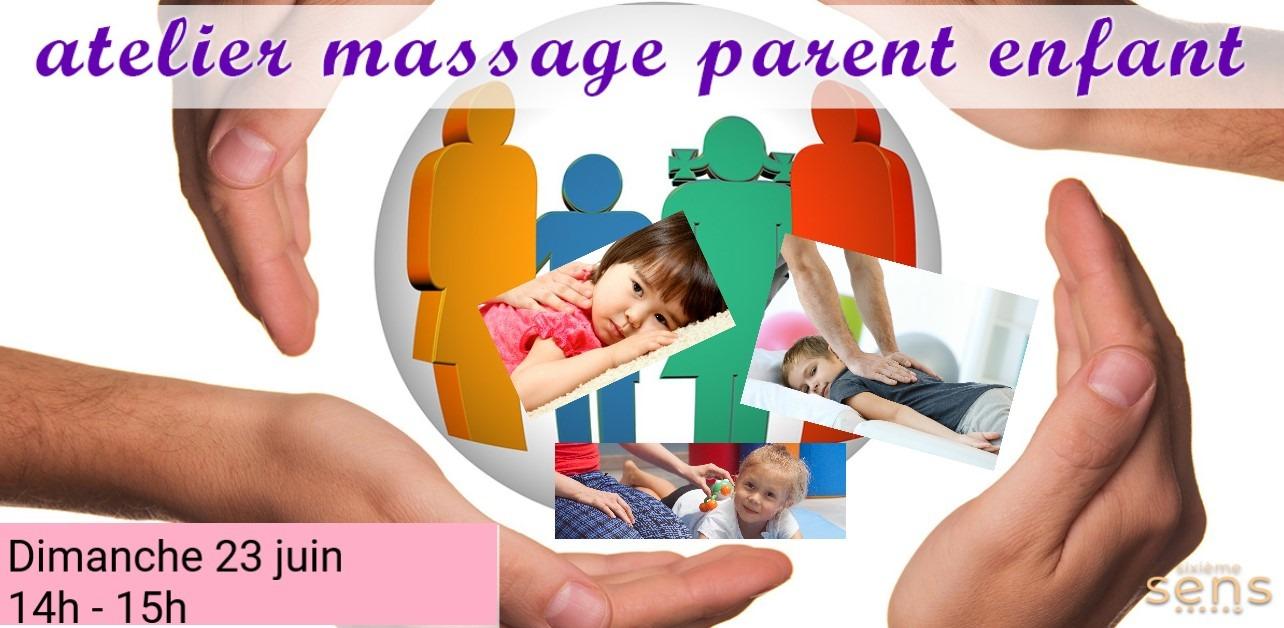 Massage Détente Parent-Enfant